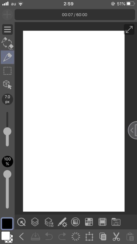 クリスタiPhone